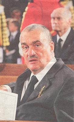 Jedním z pozvaných na jeho pohřbu byl i tehdejší ministr zahraničí České republiky Karel Schwarzenberg