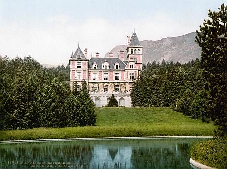 """Rodná""""Villa Wartholz"""" kolem roku 1900"""