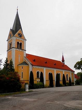 Kostel Neposkvrněného početí Panny Marie v Černé v Pošumaví