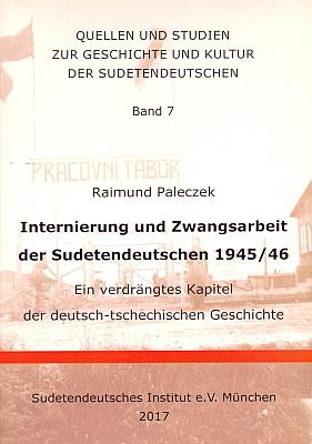 Jako sedmý svazek významné edice pramenů a studií k dějinám a kultuře sudetských Němců, kterou vydává Sudetendeutsche Institut v Mnichově, vyšla roku 2017 jeho publikace o internaci a nucené práci sudetských Němců vletech 1945-1946, psaná s důkladnou znalostí českých podkladů