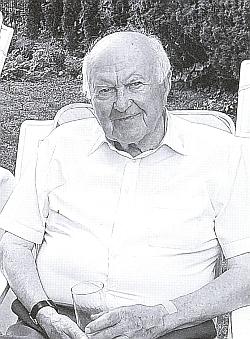 Foto otcovo o jeho devadesátých narozeninách