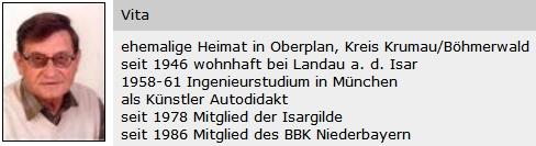 O něm v databázi bavorských umělců