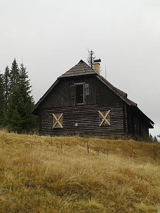 Roklanská chata na snímcích z roku 2015