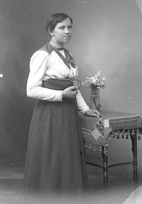 Sestra Anna na snímku z února roku 1918