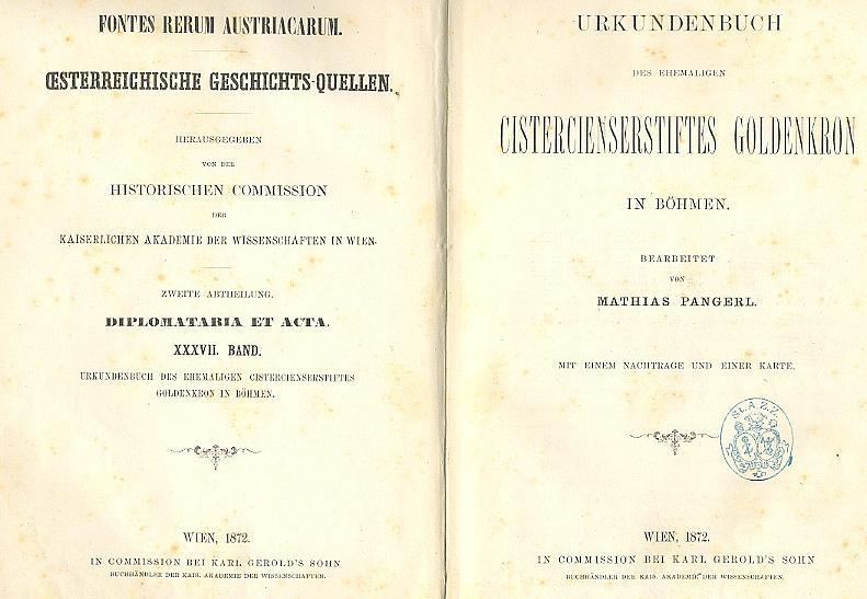Titulní list (1872)