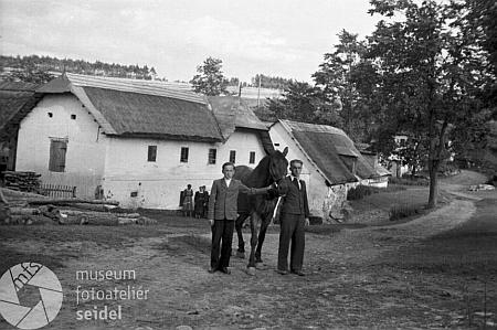 Záběr z Tisovky, odkud pocházela jeho matka