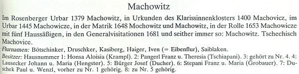 Záznam o jeho rodné vsi v Esslově momografii okresu Krumlov uvádí i Pangerlovy na čp. 2 (Tschiapani)