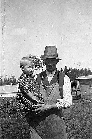 V náručí tatínka Johanna