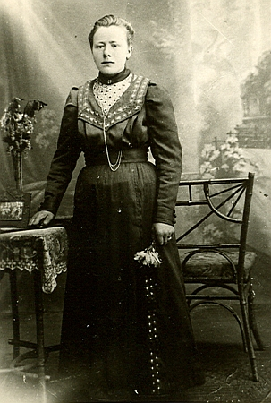 Sestra Maria, narozená v Černíkově na čp. 1 roku 1895