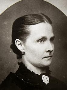 Jeho manželka Johanna, roz. Kreussová (1842-1902)