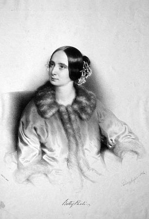 Na litografii Augusta Prinzhofera