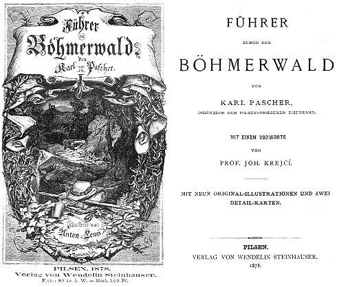 ... a frontispis i titulní list reprintu (1997) v pasovském nakladatelství Baierl
