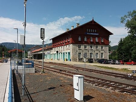 Modernizované nádraží na hranicích dvou zemí Evropské unie v roce 2017