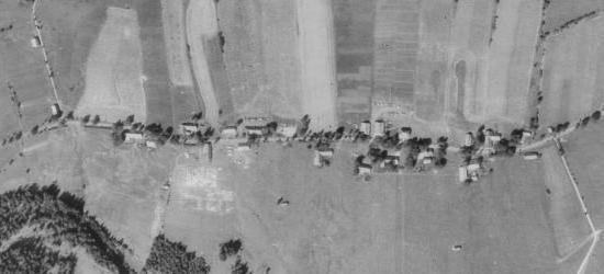 Řasnice na leteckých snímcích z let 1952 a 2011