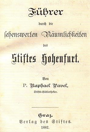 Titulní list (1882)