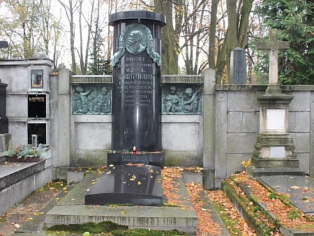 Hrob v Klatovech