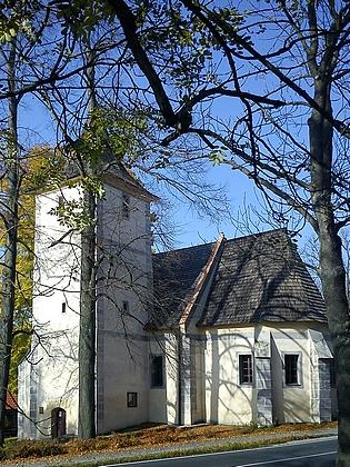 Kostel sv. Anny v Libínském Sedle