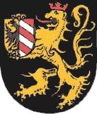 Znak bavorského města Altdorf bei Nürnberg, kde zemřel a kde je pochován