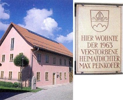 ...v domě zv. Bader-Haus v Bischofsmais...