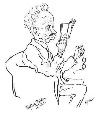 Na kresbě Jana Konůpka z roku 1928