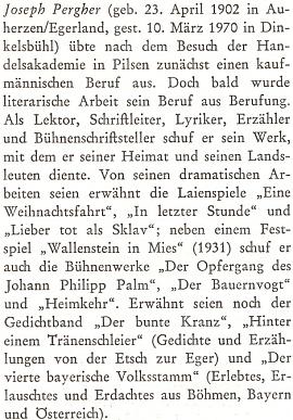 Nekrolog na stránkách čtvrtletníku Sudetenland