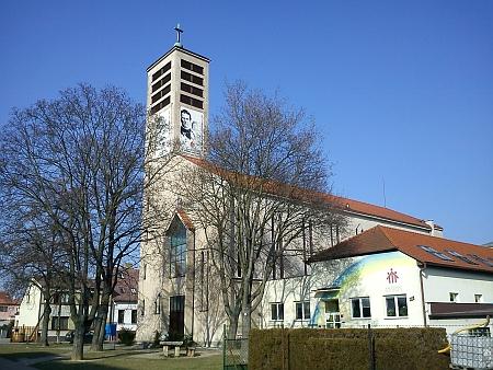 Kostel sv. Vojtěcha ve Čtyřech Dvorech