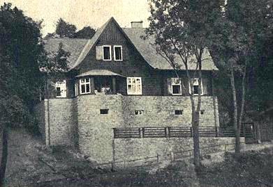 Spisovatelský domov Abendfrieden (Večerní mír) firmy Steinbrener ve Vimperku
