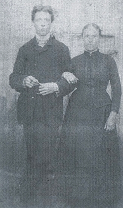 Se svou první ženou Leontine Schánělovou