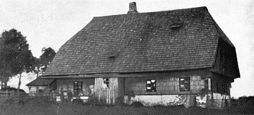 """Rodný """"rychtářův dům"""" v zaniklé Bučině"""