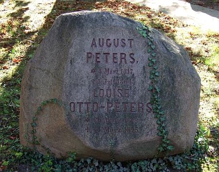 Jeho a ženin hrob v Lipsku