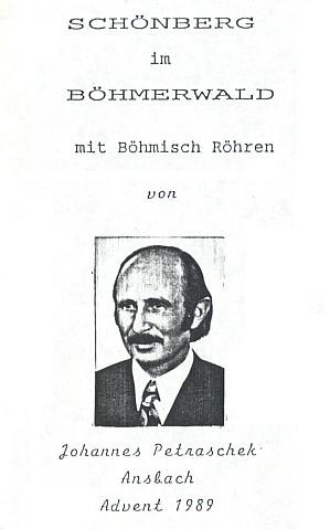 Na titulním listě vlastní knihy s vročením advent 1989