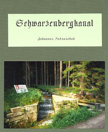 Podpis a obálka vlastním nákladem vydané knihy oSchwarzenberském plavebním kanále