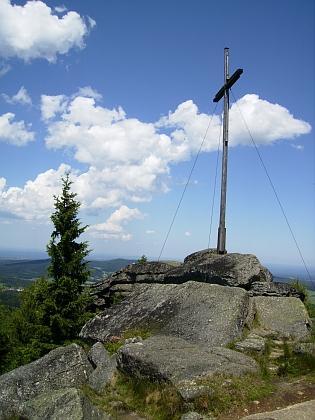 Kříž na vrcholu Nebelsteinu