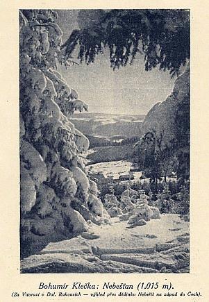Pod horou Nebelstein pramení a teče od Nebešťanu k Nebeříši ta kouzelná řeka