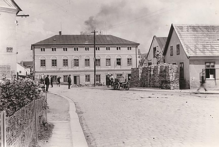 Rodná Česká Cejle (Böhmzeil) na staré fotografii