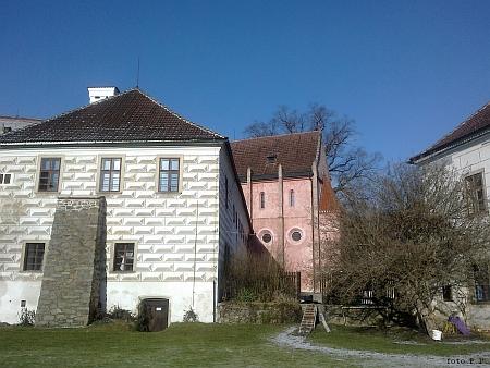 Malý konvent a kaple Andělů Strážných