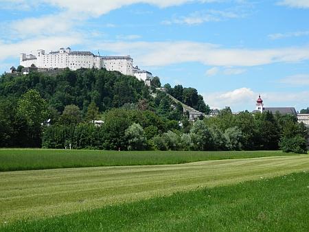 Hrad nad rodným Salcburkem