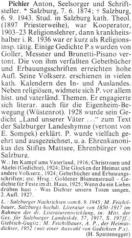 ... a heslo v rakouském životopisném lexikonu