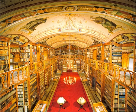 Knihovna kláštera ve Schläglu