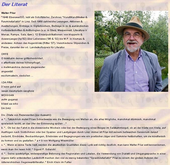 Další prezentace s citacemi literární kritiky o jeho díle