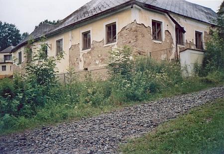 Dům rodiny Pilsovy na snímku z roku 2009...