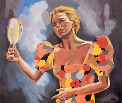 """Obraz s názvem """"Rosemaie"""" je portrétem jeho ženy"""
