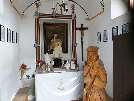 Návesní kaple v Holašovicích