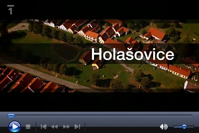 Holašovice v televizním cyklu České televize Národní klenoty (2012)