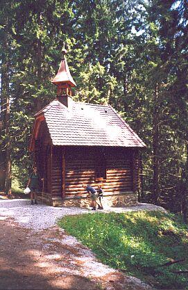 Kaple svatého Huberta na Boubíně