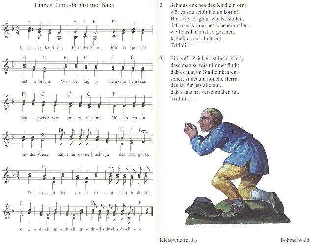 Píseň z jeho knihy Volkslieder und Volksmusik aus dem Böhmerwald (1976) dala název sborníku vánočních, novoročních a tříkrálových písní bavorsko-českého příhraničí, vydanému roku 2010 v Řezně (Regensburg) nakladatelstvím MZ Buchverlag