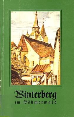 Obálka (1977) jeho knihy o Vimperku spřílohou o bavorském městě Freyung