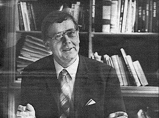V roce 1990 jako předseda Svazu Němců v Československu
