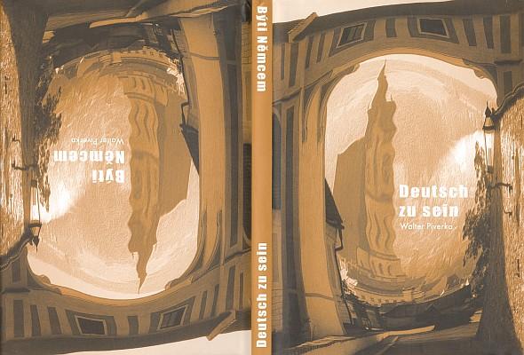 Obálka (2006) jeho knihy s motivem rodného  Krumlova (nakladatel Zdeněk Susa, Středokluky)