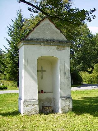 Kaplička v Křišťanovicích